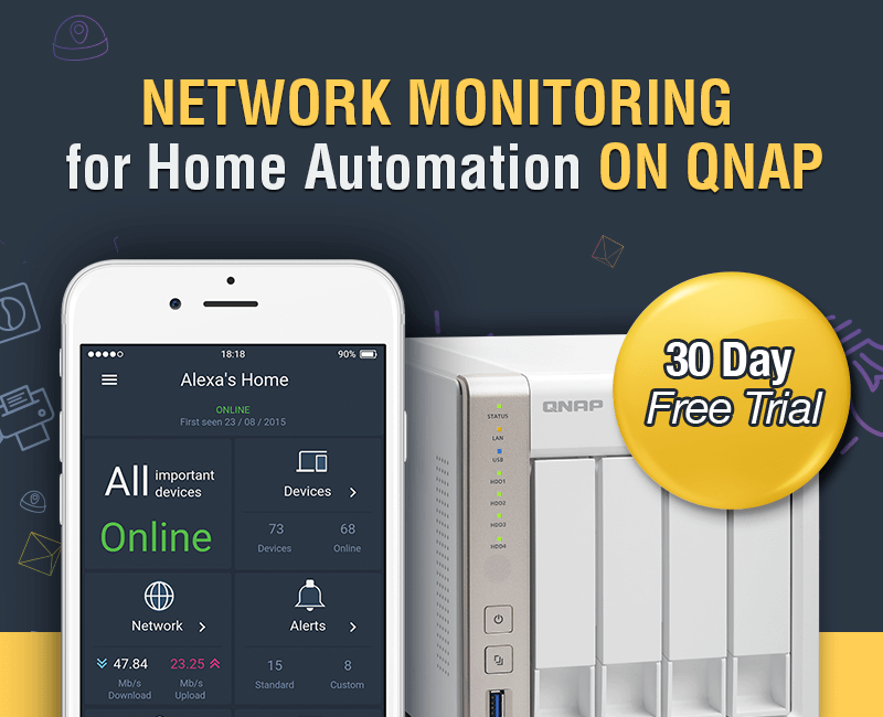 Domotz Home Intelligence for Home Automation now on the QNAP