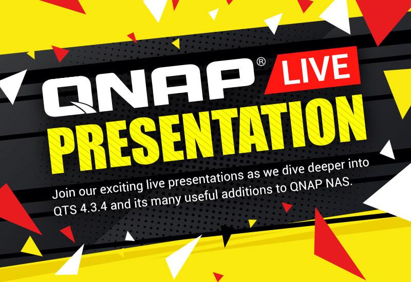 QNAP Live Presentation