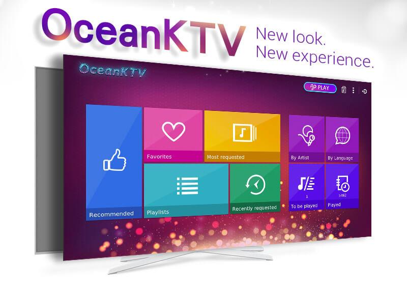 OceanKTV-New look. New experience.