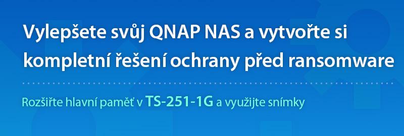 Vylepšete svůj QNAP NAS a vytvořte si kompletní řešení ochrany před ransomware